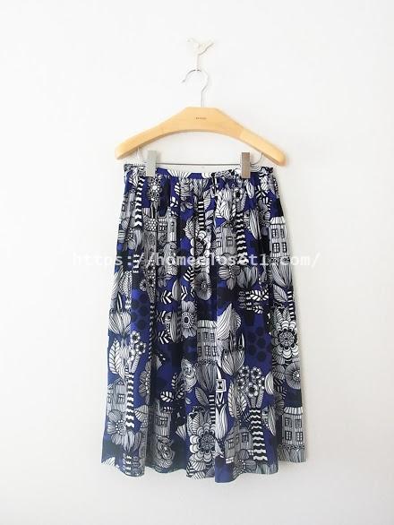 マリメッコギャザースカート